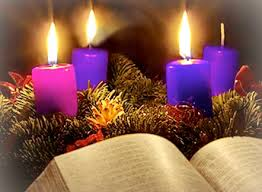 3rd Advent candle lit
